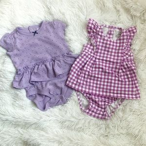 2 piece Baby Outfit Carters Size 12M